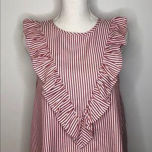 SHEIN Dress Striped Medium
